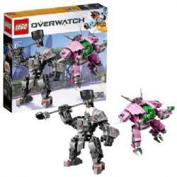 OVERWATCH -  D.VA & REINHARDT (455 PIECES) 75973