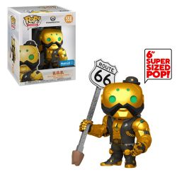 OVERWATCH -  POP! VINYL FIGURE OF B.O.B. (GOLD) (6 INCH) 558