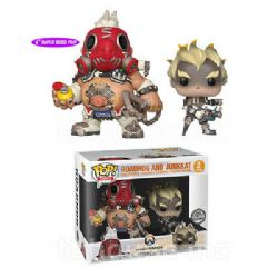 OVERWATCH -  POP! VINYL FIGURE OF ROADHOG AND JUNKRAT - 2 PACK - (6 INCH)