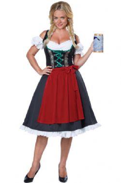 Oktoberfest -  FRAULEIN COSTUME (ADULT)