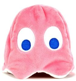 PAC-MAN -  PINKY PLUSH (REVERSIBLE) (4 INCH)