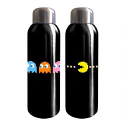 PACMAN -  STAINLESS WATER BOTTLE