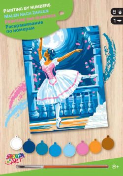 PAINT BY NUMBERS JUNIOR - BALLERINA