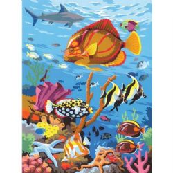 PAINT BY NUMBERS JUNIOR - FISHES