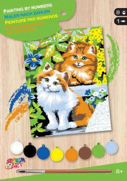 PAINT BY NUMBERS JUNIOR - KITTENS