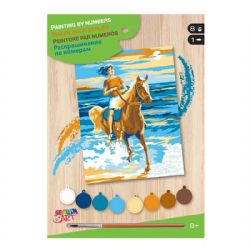 PAINT BY NUMBERS JUNIOR - RIDER