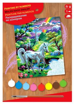 PAINT BY NUMBERS JUNIOR - UNICORNE