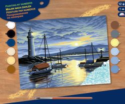 PAINT BY NUMBERS SENIOR - SUN SET