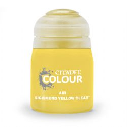 PAINT -  CITADEL AIR - SIGISMUND YELLOW CLEAR (24ML) 28-62