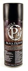 PAINT -  FORMULA P3 BLACK SPRAY PAINT / PRIMER