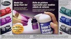 PAINT -  MODEL SPRAY SET (6 COLORS + PROPELLANT)