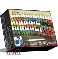 PAINT -  THE ARMY PAINTER - 50 WARGAMER MEGA PAINT SET