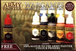 PAINT -  THE ARMY PAINTER - HOBBY STARTER PAINT SET