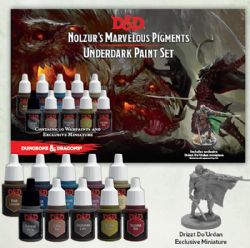 PAINT -  UNDERDARK PAINT SET -  NOLZUR'S MARVELOUS PIGMENTS