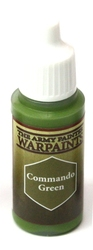 PAINT -  WARPAINTS - COMMANDO GREEN (18 ML)