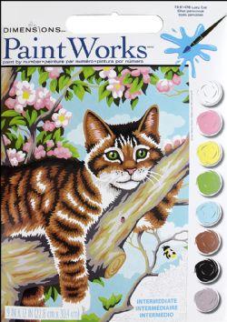 PAINT WORKS -  LAZY CAT (9