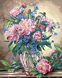 PAINT WORKS -  PEONY FLORAL (16