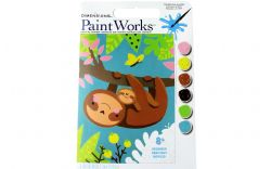 PAINT WORKS -  SLOTH AND BABY (8