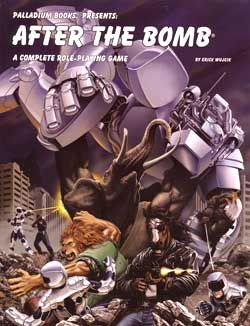 PALLADIUM -  AFTER THE BOMB ROLE PLAYING GAME HC (ENGLISH)