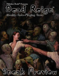 PALLADIUM -  DEAD REIGN ROLEPLAYING GAME HC (ENGLISH)