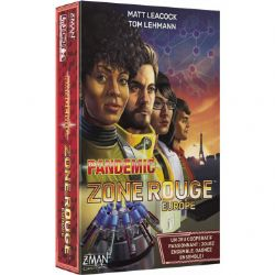 PANDEMIC -  EUROPE (FRENCH) -  ZONE ROUGE