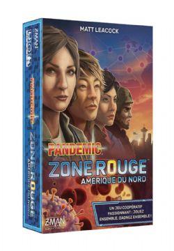 PANDEMIC -  ZONE ROUGE (FRENCH) -  AMÉRIQUE DU NORD