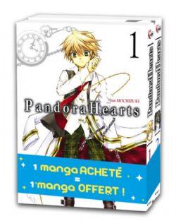 PANDORA HEARTS -  PACK DÉCOUVERTE TOMES 01 & 02