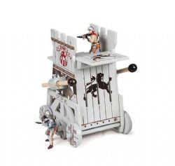 PAPO FIGURE -  ASSAULT TOWER -  THE MEDIEVAL ERA 60003
