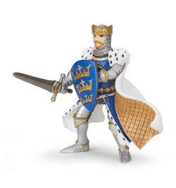PAPO FIGURE -  KING ARTHUR BLUE -  LE MONDE MÉDIÉVAL 39953