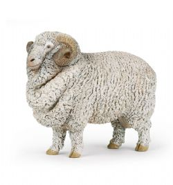 PAPO FIGURE -  MERINOS SHEEP -  FARMYARD FRIENDS 51174