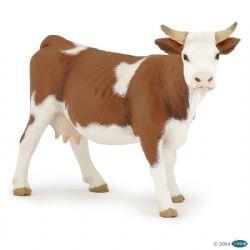PAPO FIGURE -  SIMMENTAL COW -  FARMYARD FRIENDS 51133