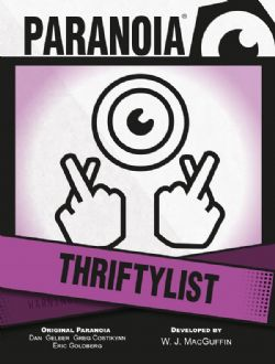 PARANOIA -  THRIFTYLIST CARD DECK (ENGLISH)
