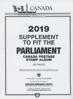 PARLIAMENT -  2019 SUPPLEMENT