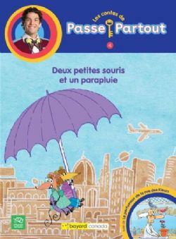 PASSE PARTOUT -  DEUX PETITES SOURIS ET UN PARAPLUIE 04