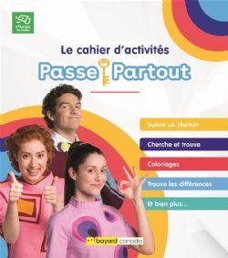 PASSE PARTOUT -  LE CAHIER D'ACTIVITÉS