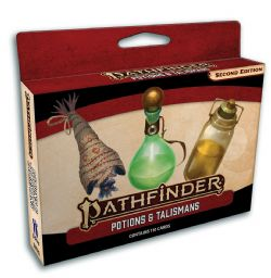 PATHFINDER 2E -  POTIONS AND TALISMANS CARDS (ENGLISH)