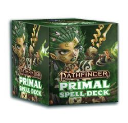 PATHFINDER 2E -  PRIMAL (ENGLISH) -  SPELL CARD