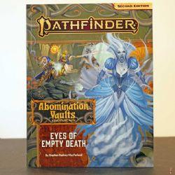 PATHFINDER 2ND -  ADVENTURE PATH - EYES OF EMPTY DEATH (ENGLISH) -  ABOMINATION VAULTS 03