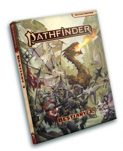 PATHFINDER 2ND -  BESTIARY 3 (ENGLISH)
