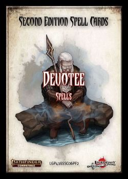 PATHFINDER 2ND -  DEVOTEE - SPELLS (ENGLISH) -  SPELL CARDS
