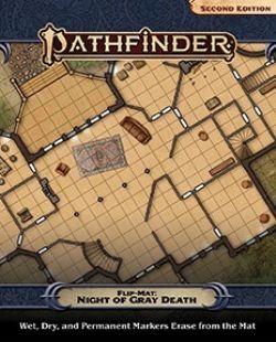 PATHFINDER 2ND -  NIGHT OF THE GRAY DEATH -  FLIP-MAT