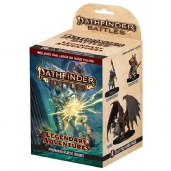 PATHFINDER BATTLES -  BOOSTER PACK - 4 COLLECTIBLE FIGURES -  LEGENDARY ADVENTURES