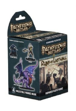 PATHFINDER BATTLES -  BOOSTER PACK - 4 COLLECTIBLE FIGURES -  RUINS OF LASTWALL