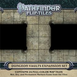 PATHFINDER -  DUNGEON VAULTS EXPENSION SET -  FLIP-TILES