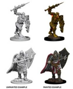 PATHFINDER MINIATURES -  DEATH KNIGHT AND HELMED HORROR (2) -  DEEP CUTS