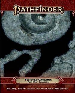 PATHFINDER -  TWISTED CAVERNS -  FLIP-MAT CLASSICS