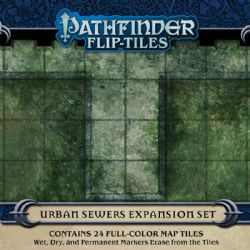 PATHFINDER -  URBAN SEWERS EXPANSION SET -  FLIP-TILES