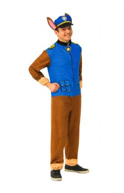 PAW PATROL -  CHASE COSTUME (ADULT)