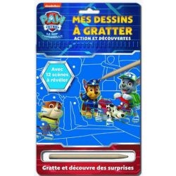 PAW PATROL -  MES DESSINS À GRATTER
