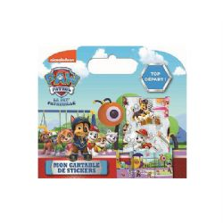 PAW PATROL -  MON CARTABLE DE STICKERS